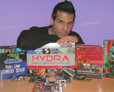 Andre' LaMothe with Products and Books
